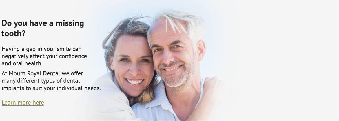 Dentist Burlington ON - Elderly Couple